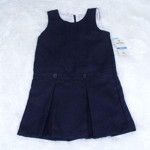 Dockers School Uniform Pleated Jumper